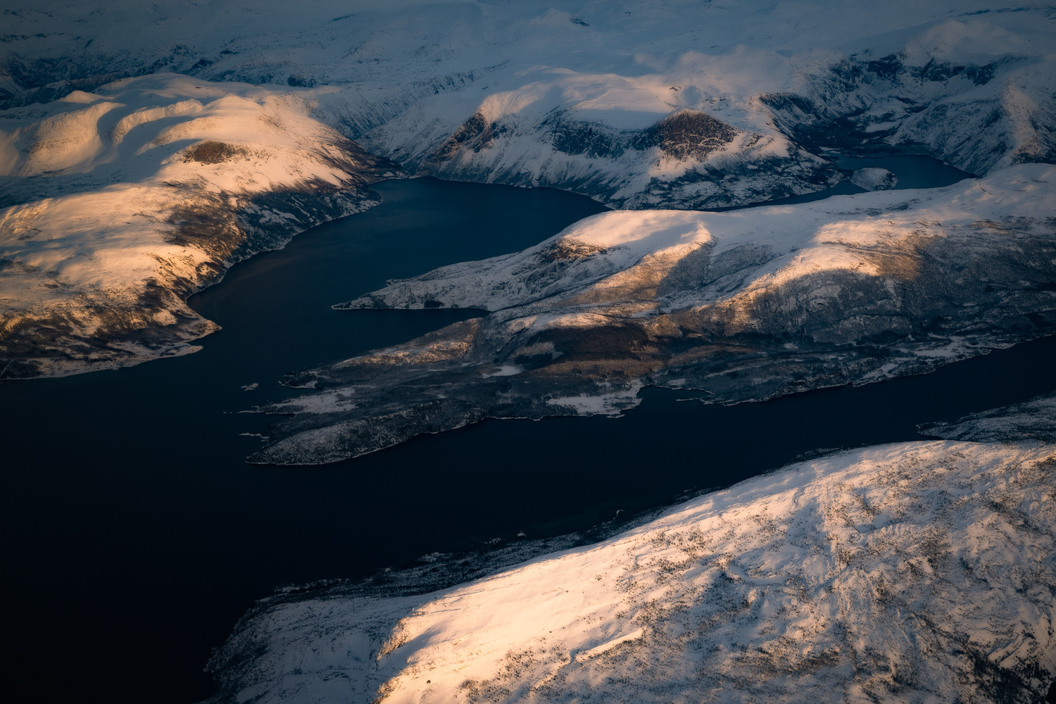 Norway from the sky by MasaHiro IKEDA