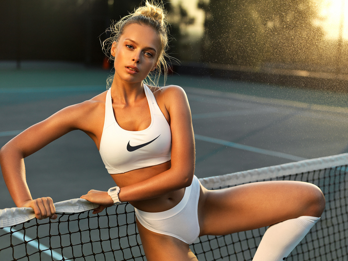 Let's play tennis by Dmitry Bocharov