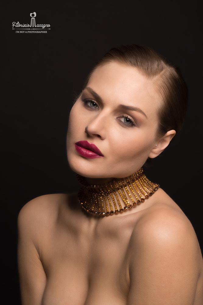 Francesca Colombo Model by Fabrizio Macagno