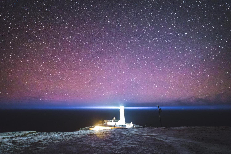 Tiumpan Head Starscape by Robert Smith