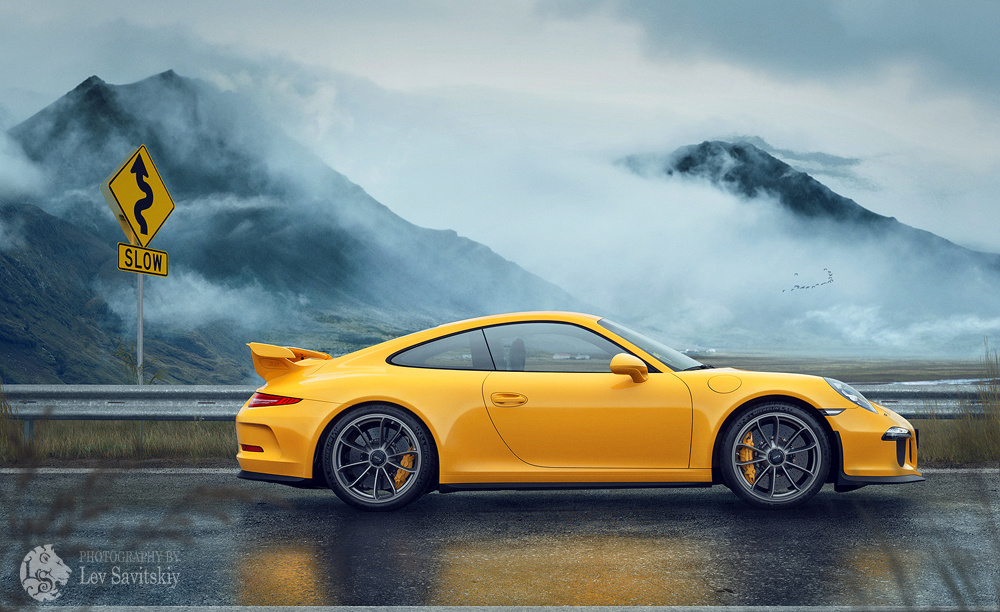 Porsche 911 GT3 by Lev Savitskiy