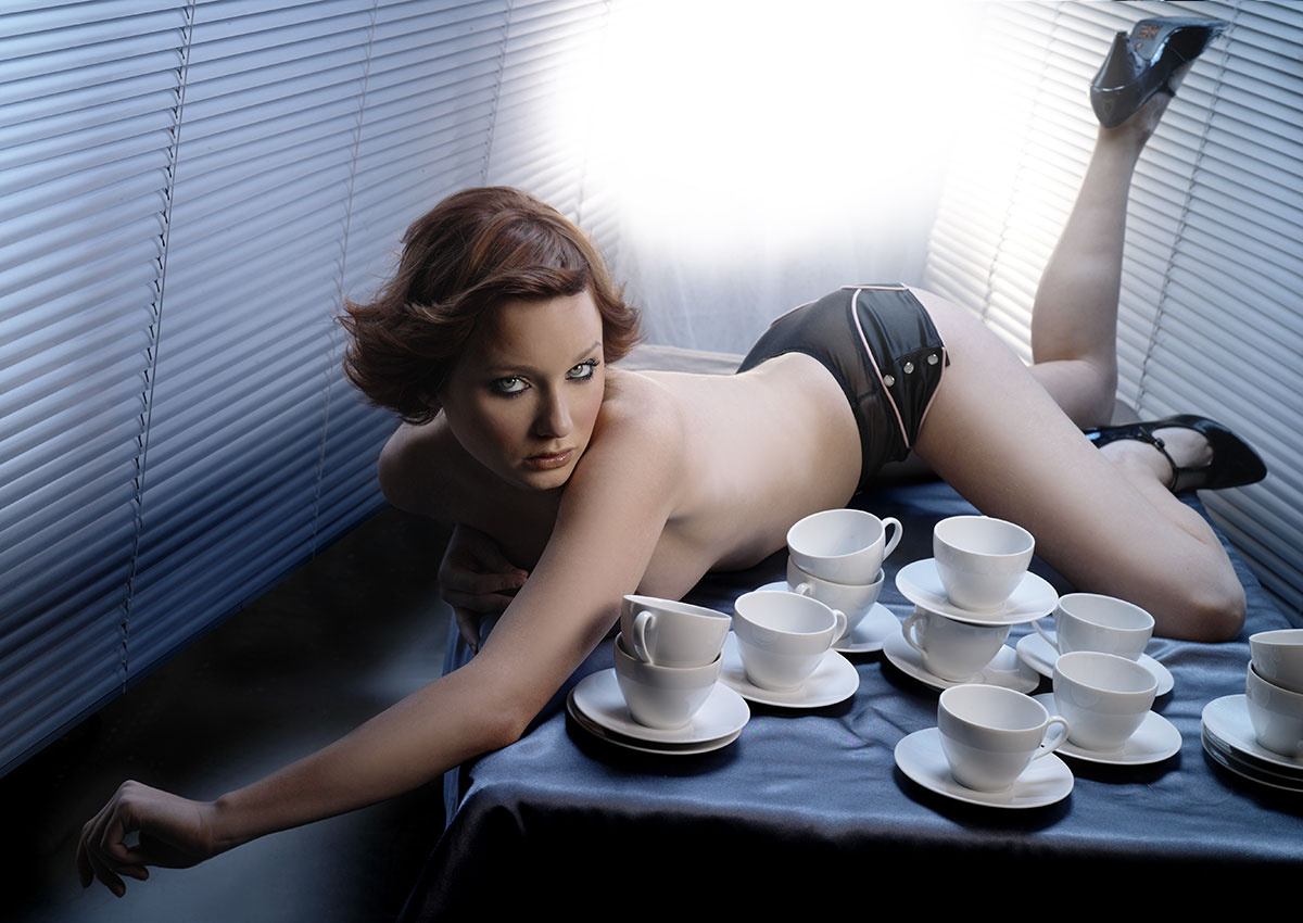 Teatime by Mark Eilbeck