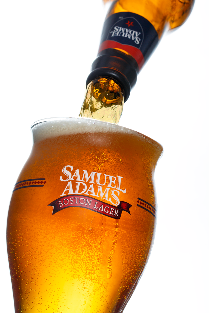 Sam Adams Pour by George Mitchell