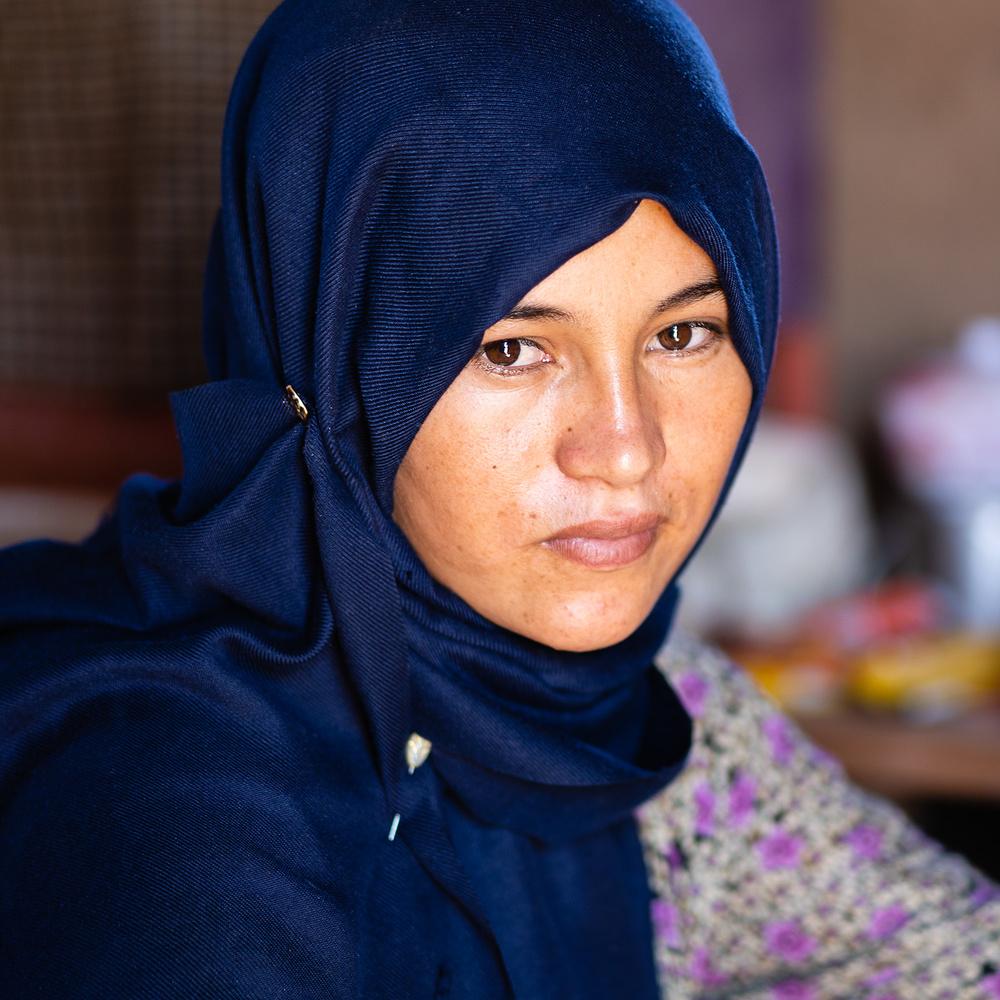 Berber woman by Igor Pavlenko