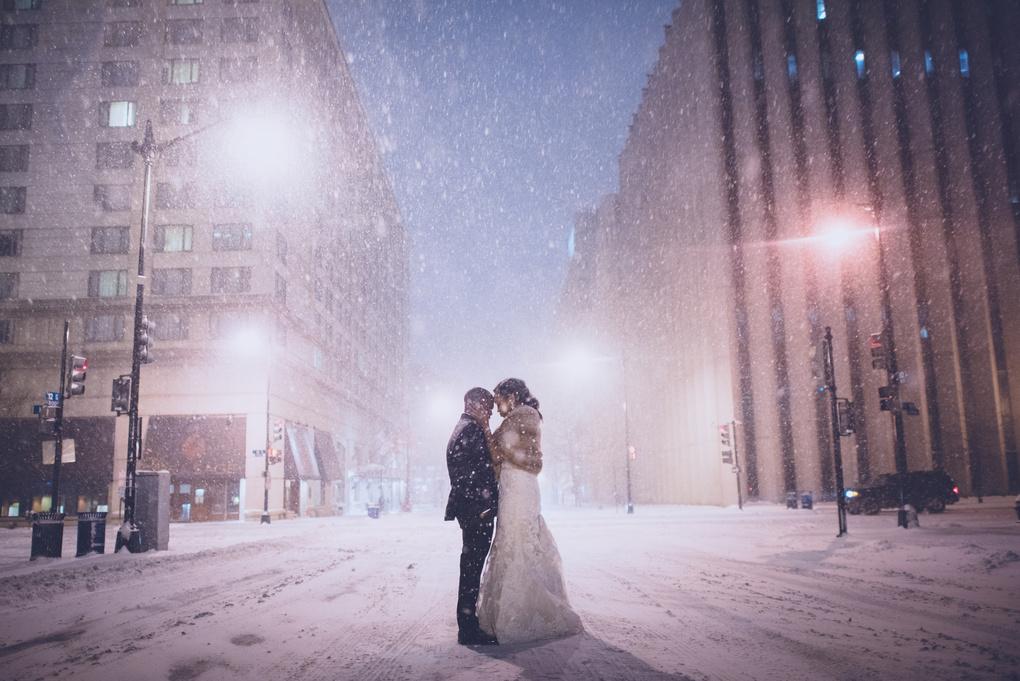 into the snow by Ian Sbalcio