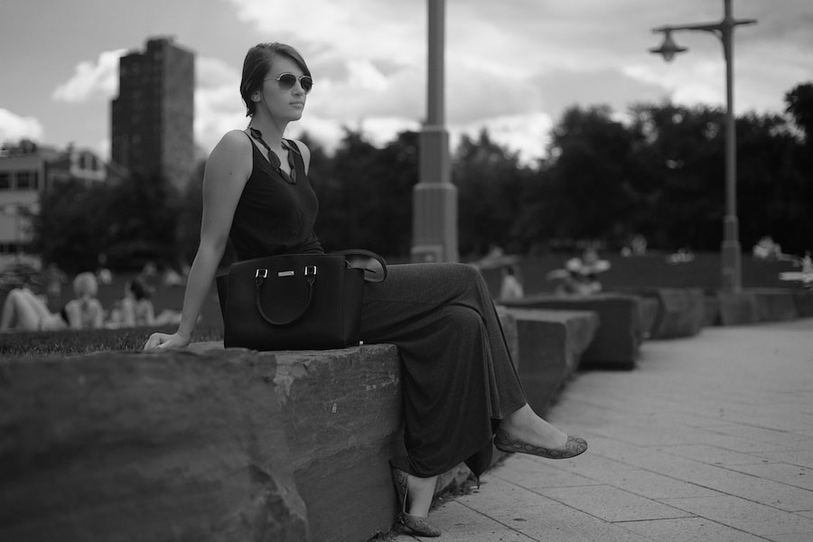 Fashionable Lady, West Side by Michael Comeau