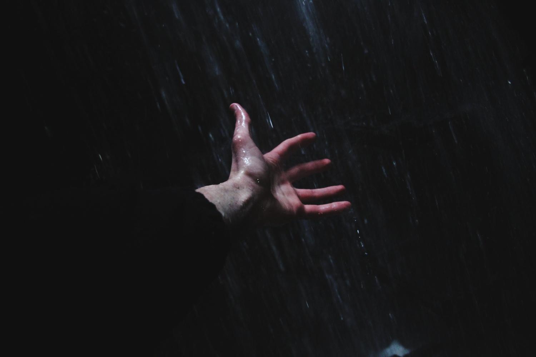 Hand in The Rain by Hunter Kotlinski