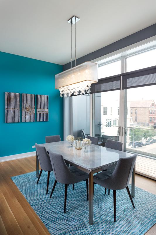 Condo Dining Space by Adam Milton