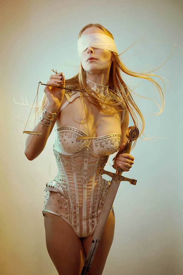 Lady Justitia by Laura Sheridan