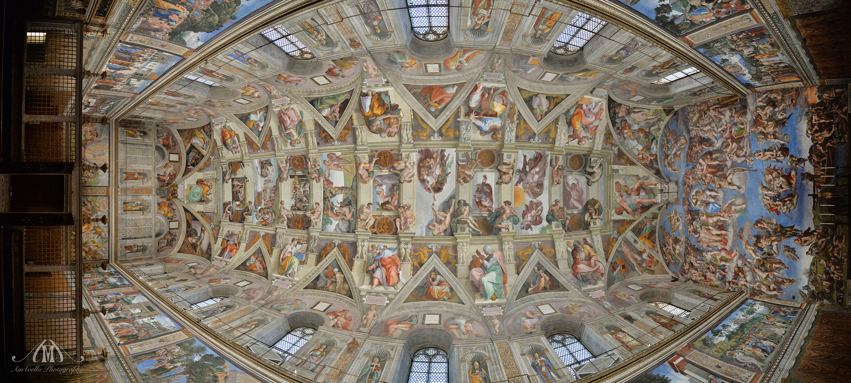 Sistine Chapel by Adriana Avello