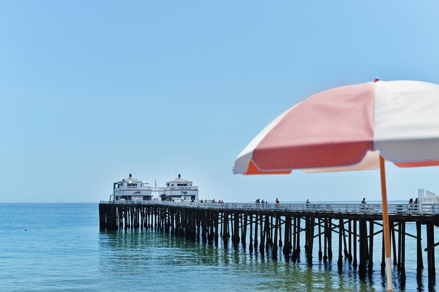 Malibu Umbrella by Adriana Avello