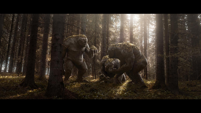 Mr. Bilbo's Trolls by William Faucher