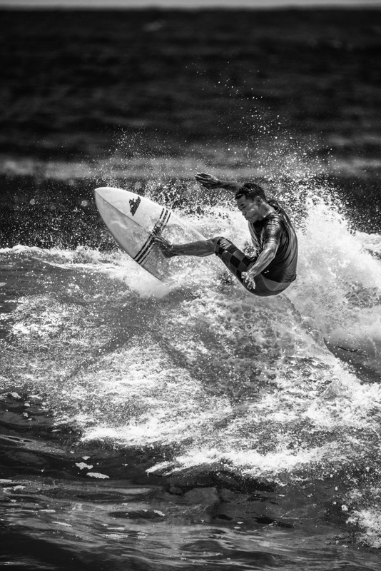 Kauai Surfer by Eric Bloemers