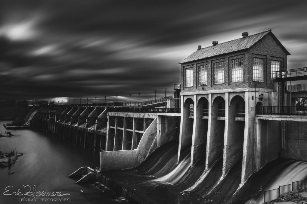 Lake Overholser Dam  by Eric Bloemers