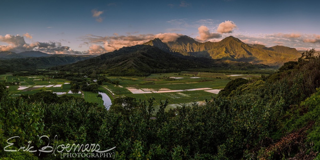 Princeville Lookout by Eric Bloemers