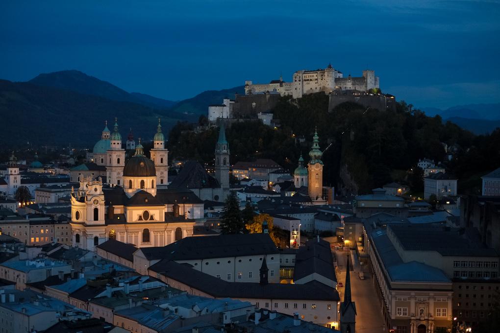 Salzburg Castle by Daniel Karr