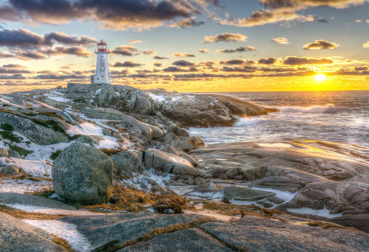 Peggy's Cove, Nova Scotia, Canada by Jean-Marc Desjarlais