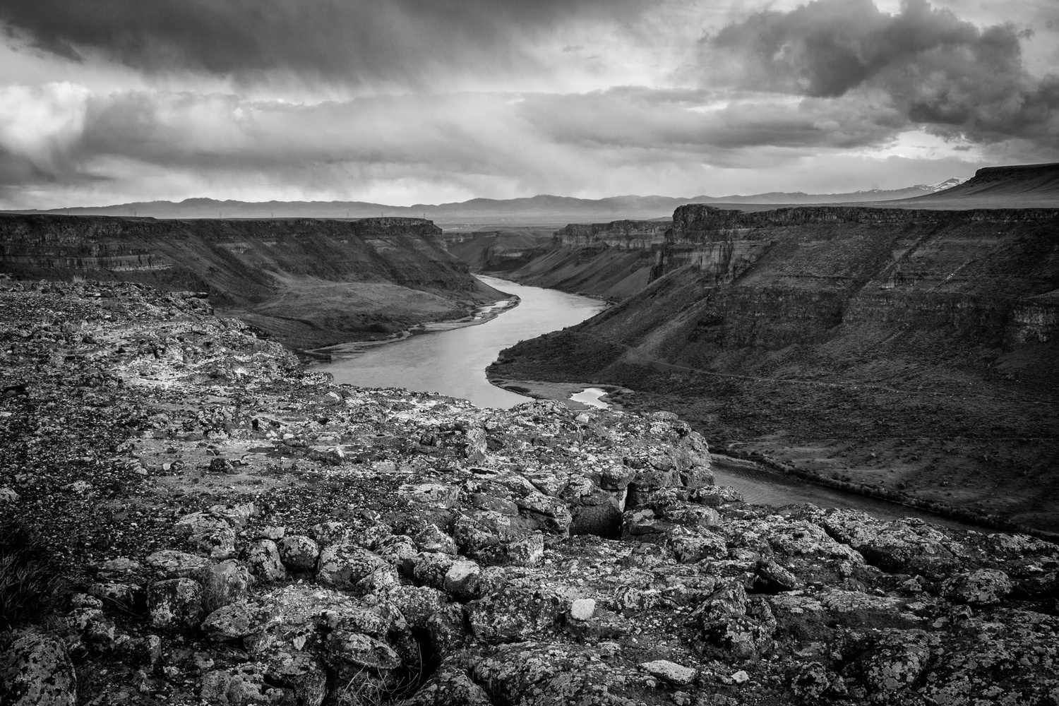 Snake River Canyon by Peter Bumbarger