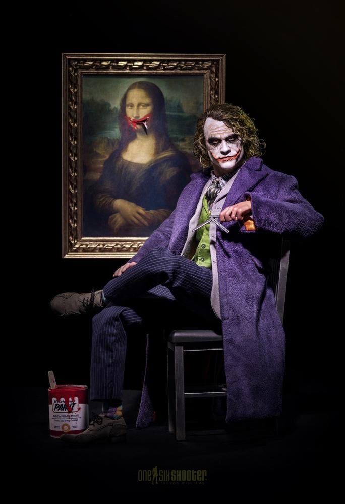 Portrait of the Artist (Mona Laffa) by Trevor Williams