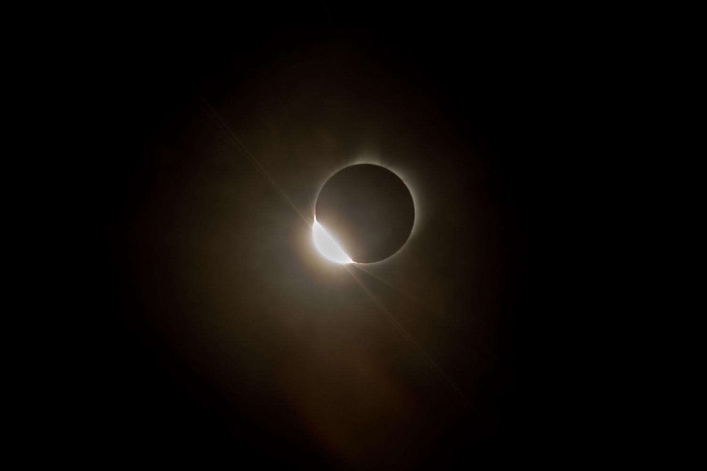 2017 Solar Eclipse Entrance Ring by Josh Bryant