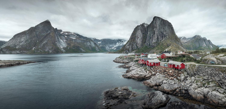 Fishing villages by Antoine Buchet
