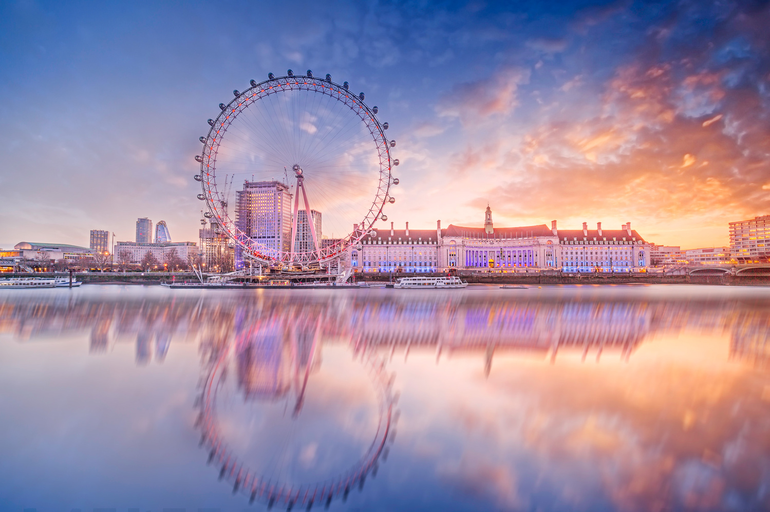 London Eye by Antoine Buchet