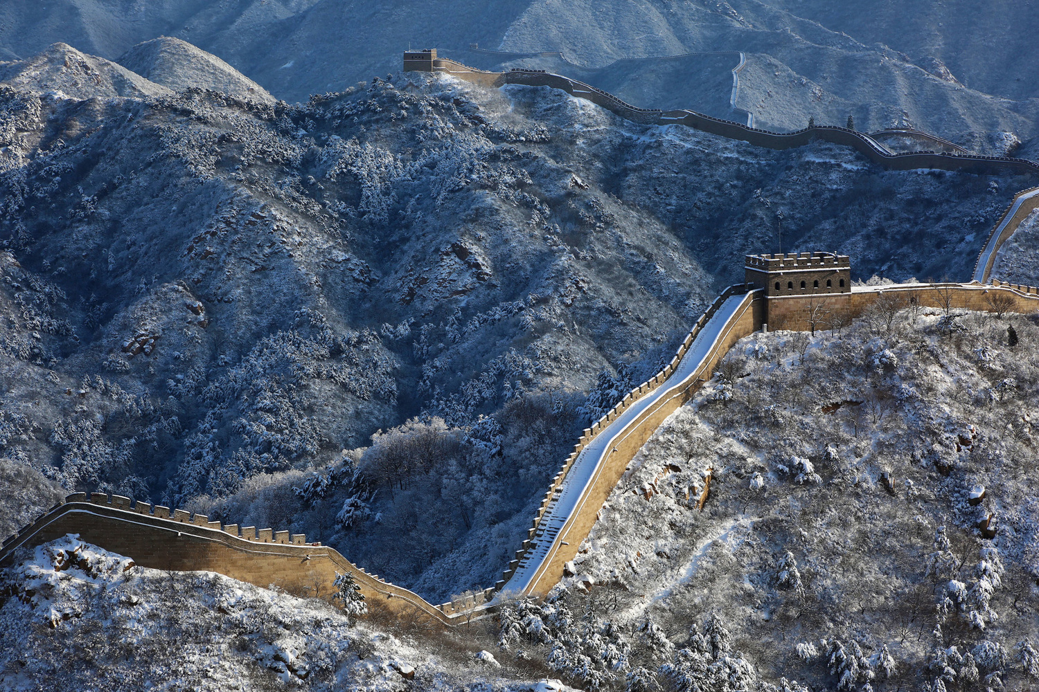 The great wall by Antoine Buchet