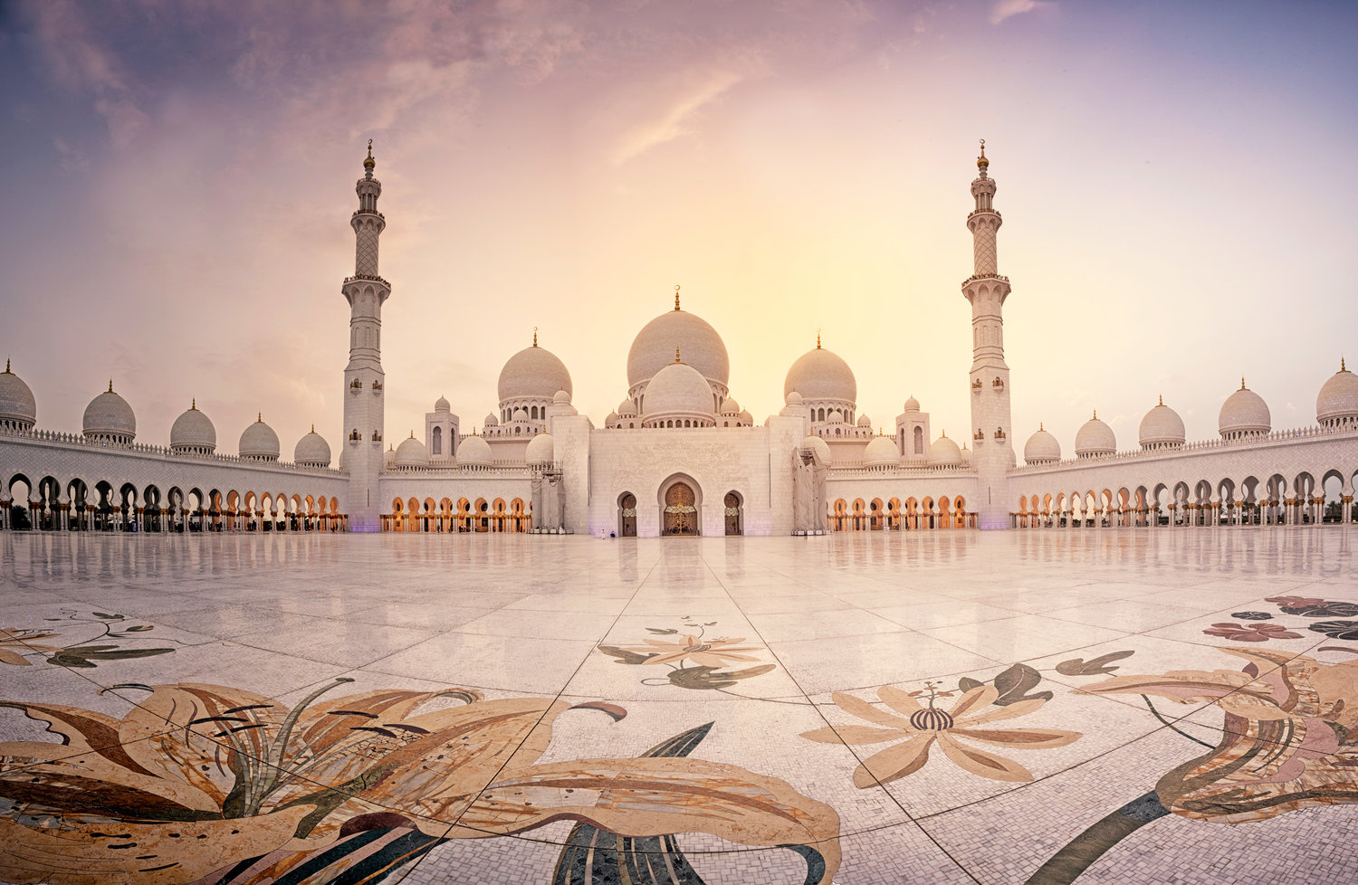 Sheikh Zayed Grand Mosque by Antoine Buchet