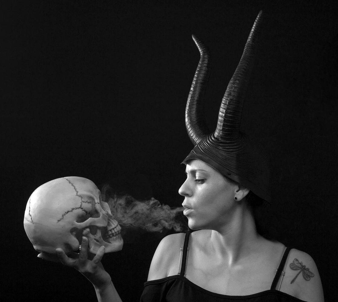 Devil whispers by Lior Filshteiner