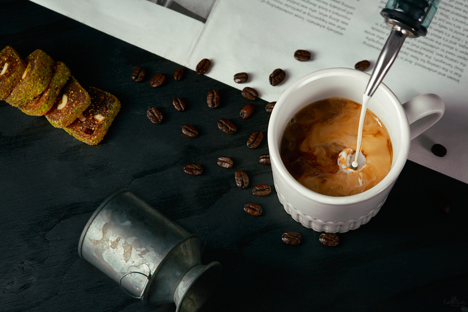 Coffee With Milk In The Morning by Sergey Sinin