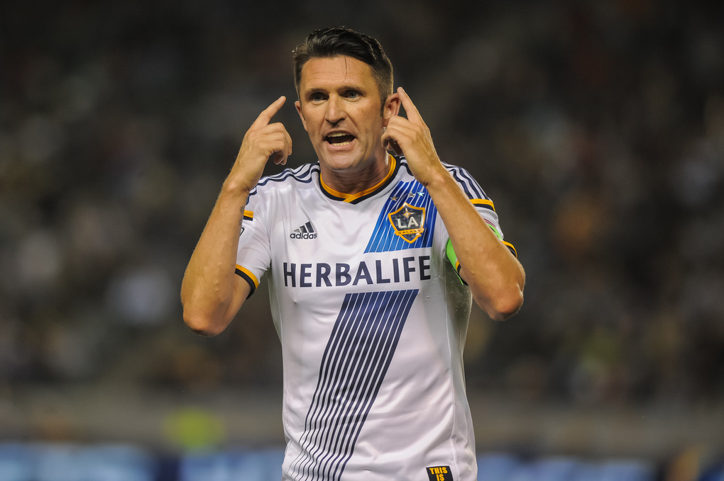 Robbie Keane by steve carrillo