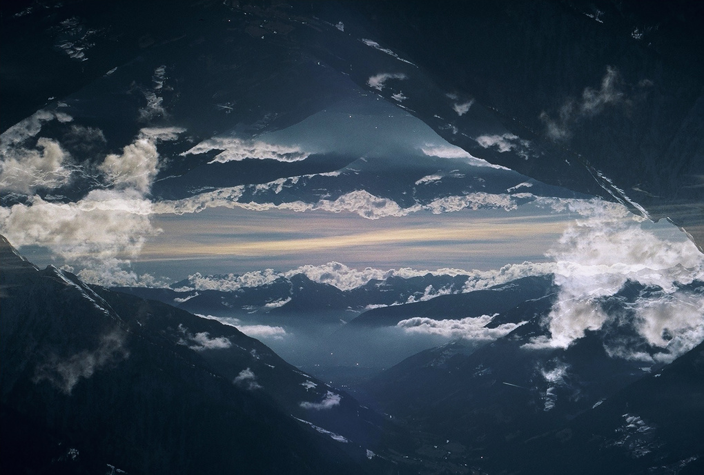 Abstract Landscape by Christian Hartmann