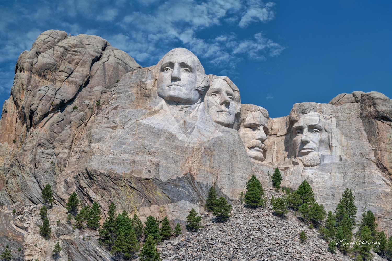 Mt Rushmore by Robert Grenader