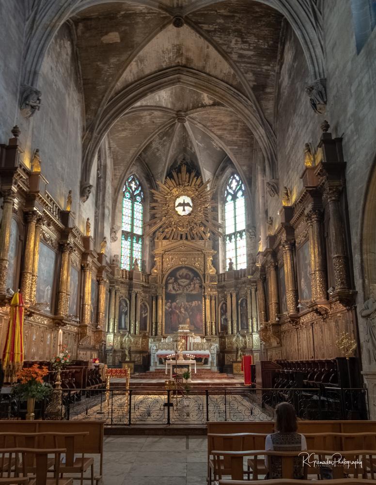 Cathedral Viviers by Robert Grenader