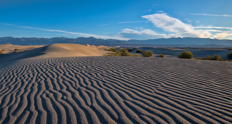 Mesquite Dunes Death Valley by Robert Grenader