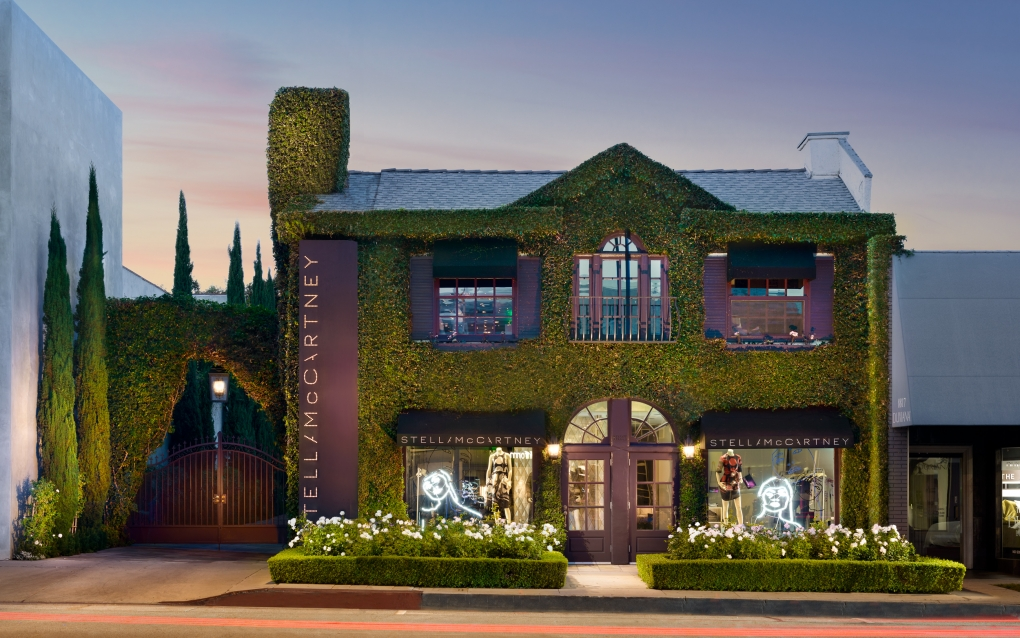 Stella McCartney Storefront West Hollywood by Dylan Patrick