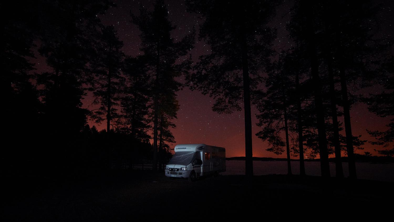 Night in Rv by Petteri .