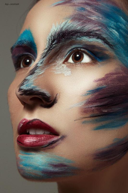 Make up by Apostolos Kristallidis