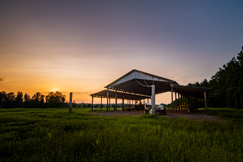 The Hay Barn by Mark Guinn