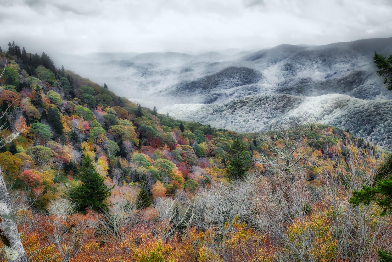 Winter Creeps In by Mark Guinn