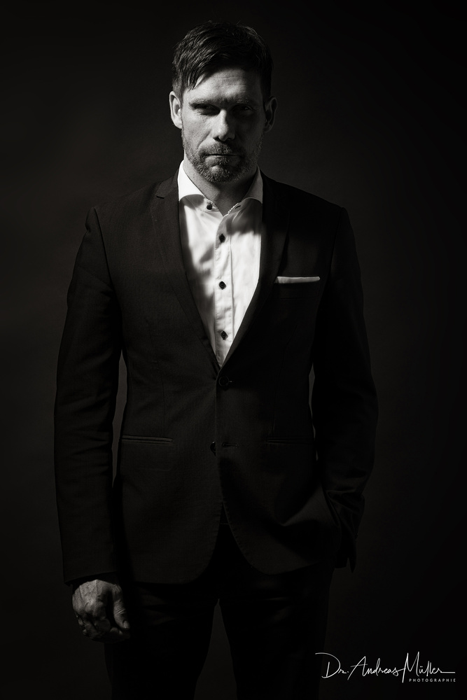 There is nothing like a sharp suit by Andreas Müller
