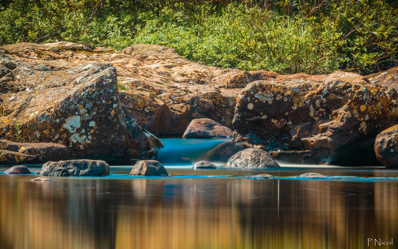 Blue water by Paul Nicol
