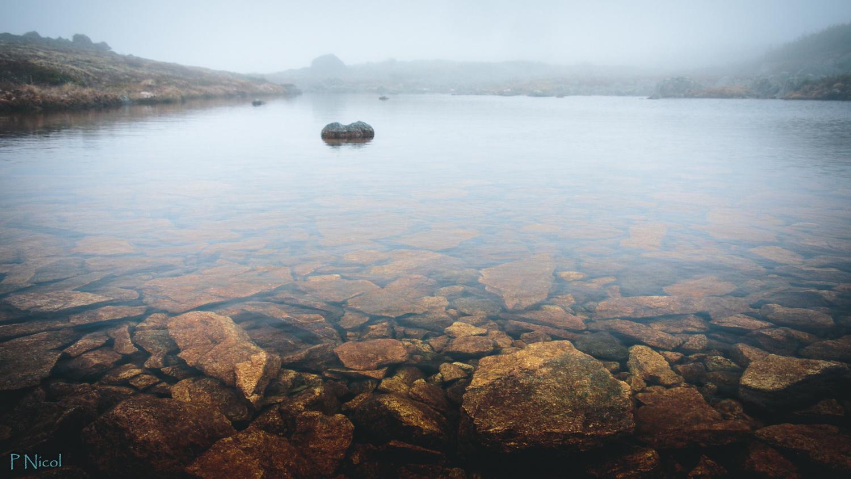 Foggy bottom in blue by Paul Nicol