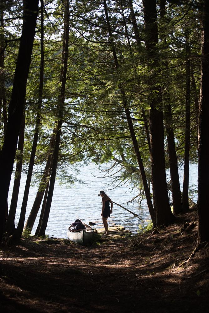 Canoeing  by Nathanael Asaro