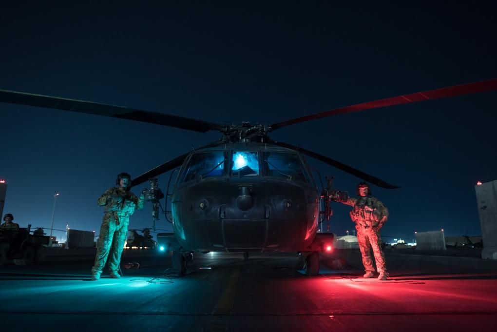 Blackhawk crew by George chino