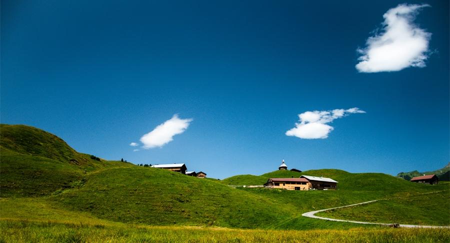 Alpine View by Christoph Moosbrugger