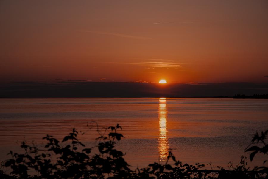 Sumer Sunset by Christoph Moosbrugger