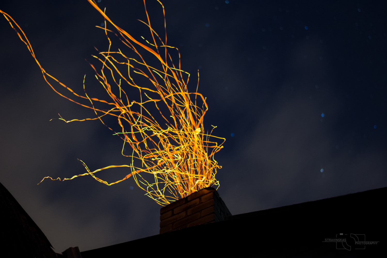 Strings of Fire by Žilvinas Stravinskas