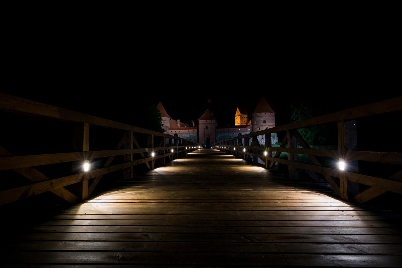 The Night Castle by Žilvinas Stravinskas