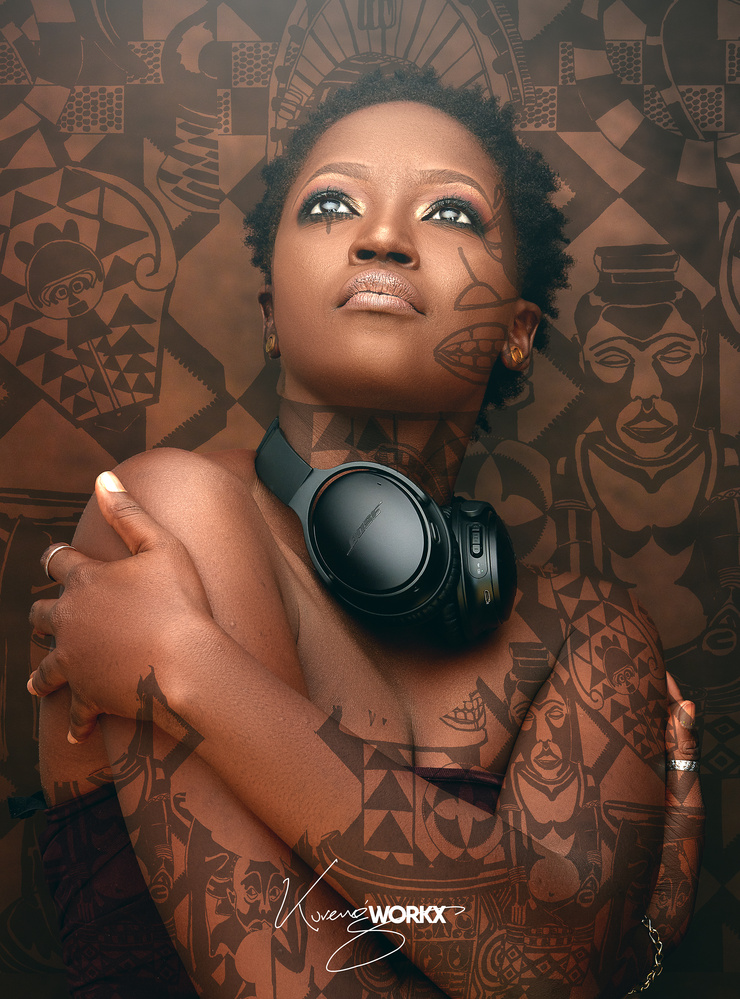 Ink on the skin by kureng dapel